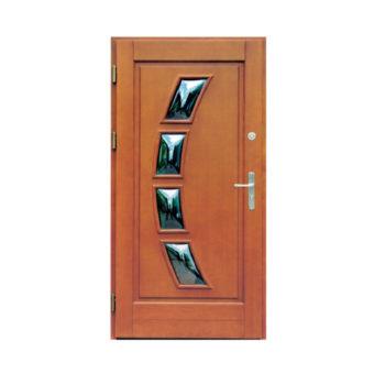 Drzwi drewniane Wiatrak – wzór 14