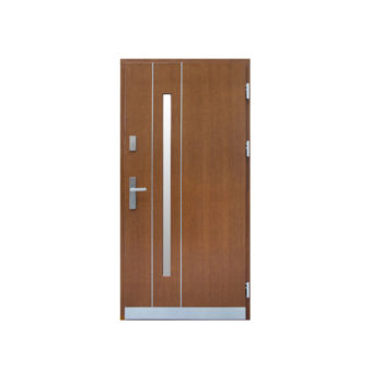 Drzwi drewniane Wiatrak – ZP18-Inox