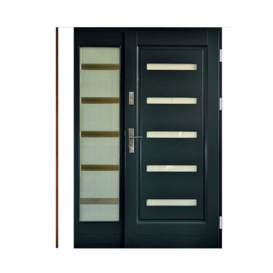 Drzwi drewniane Wiatrak – wzór NS12