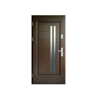 Drzwi drewniane – Wiatrak – wzór 33