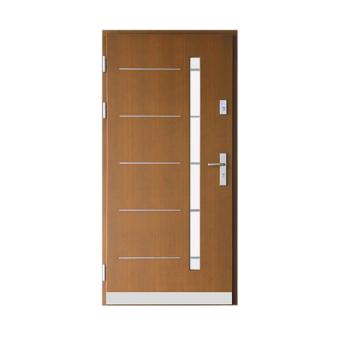 Drzwi drewniane Wiatrak – ZP14-Inox