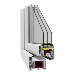 Okno PCV – Aluplast 85 mm