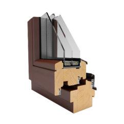 Okno drewniane – 92 mm