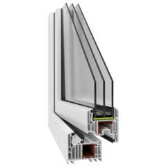 Okno PCV – Veka 82 mm