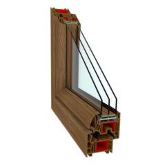 Okna PCV – Perfectherm (okrągły) Winchester